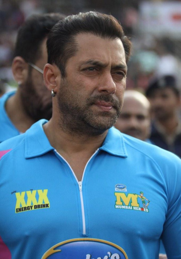 Salman Khan Photo  In CCL Match