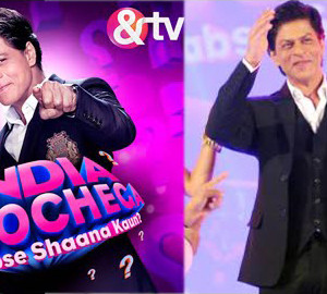 Shahrukh Khan Launch New TV Show India Poocheca