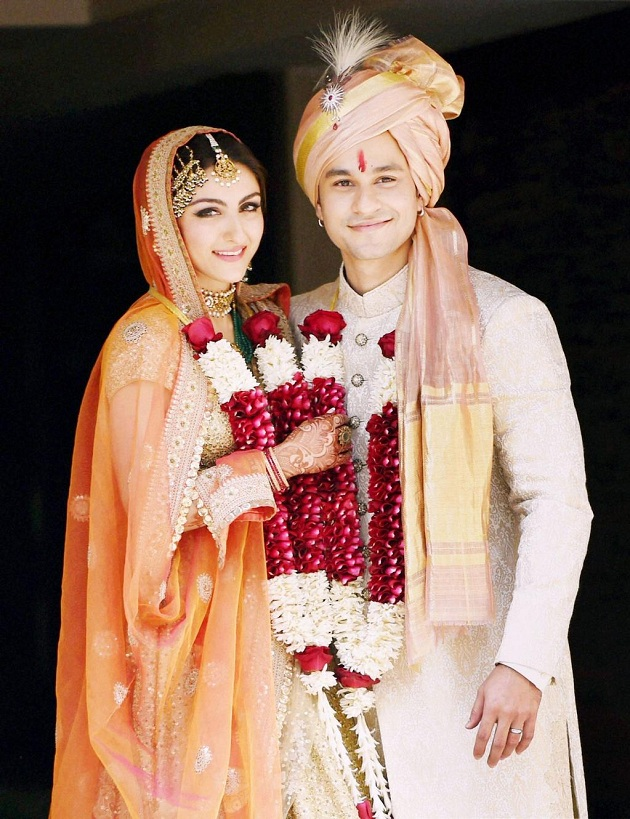 Soha Ali Khan And Kunal Khemu Wedding photo