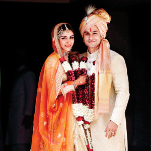 Soha and Kunal Marriage Photo