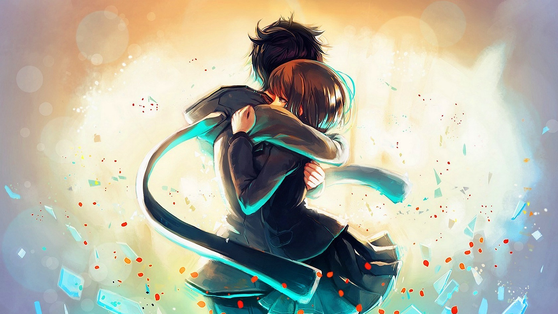 Boy And Girl Love Wallpaper Free : Best Hug Day Wallpaper - Gallery